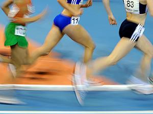 """""""Sportlich in die Zukunft"""" ist das Motto der Messe für Sport- und Fitnesskaufleute. Copyright: picture-alliance"""