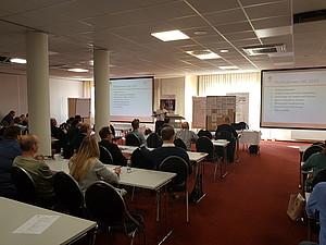 Programmleiter Viktor Jukkert bei der Vorstellung der Ergebnisse des Jahres 2018