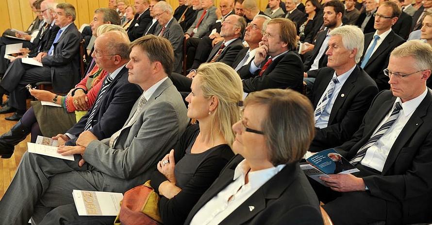Rund 100 Gäste waren zur Preisverleihung ins Leineschloss gekommen. Foto: picture-alliance