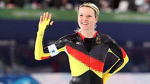 Stephanie Beckert hatte ihr größten Erfolge bei den Olympischen Spielen in Vancouver. Foto: picture-alliance
