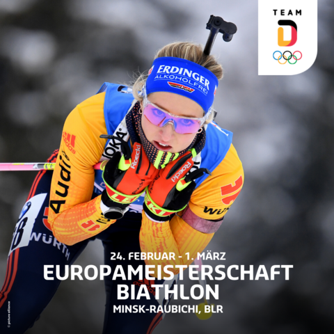 Biathlon EM in Belarus