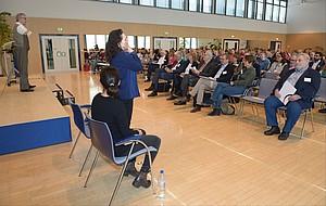 Beim Inklusionskongress des DOSB 2016 in Frankfurt am Main wurde deutlich, welch große Potenziale das gemeinsame Sporttreiben von Menschen mit und ohne Behinderung besitzt. Foto: Ralf Kuckuck
