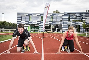 Am 18. Juni um 16 Uhr fällt der Startschuss für die Sportabzeichen-Uni-Challenge  (Foto: Lukas J. Herbers)