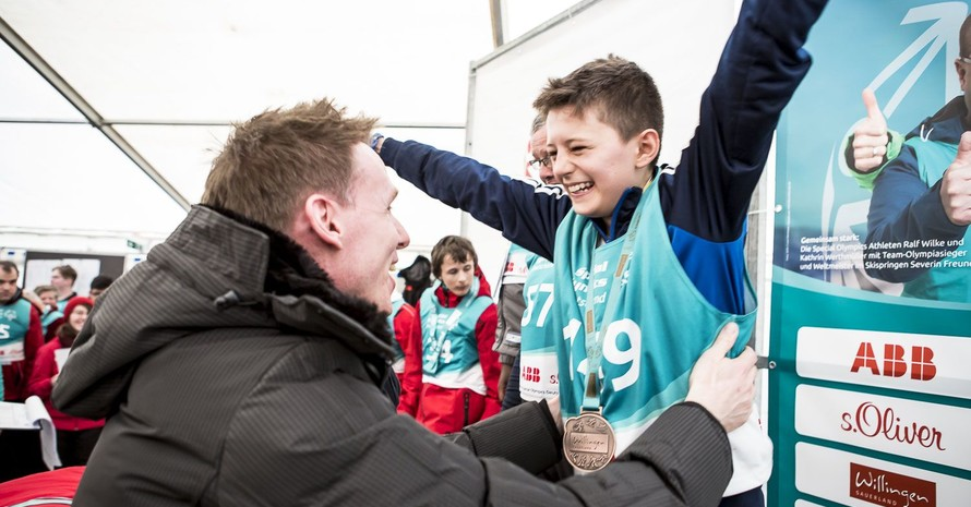 Gewinner der Special Olympics Winterspiele 2017 in Willingen. Foto: SOD/Stefan Holtzem