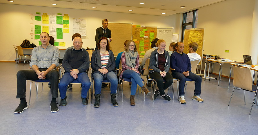 "Train the Trainer ""Fit für die Vielfalt"" 22.-26.01.2018"
