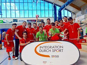 Das Siegerteam aus Arnstadt