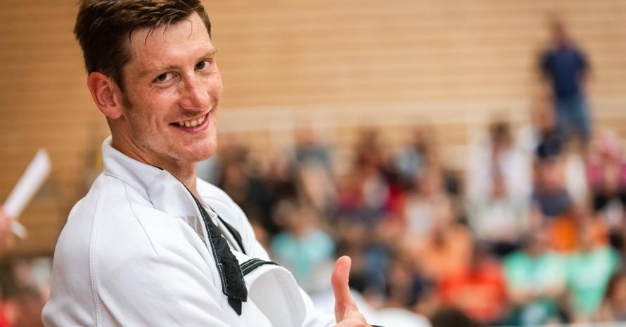 Alexander Nobis schaut auf eine erfolgreiche Karriere im Modernen Fünfkampf zurück. Foto: Filip Komorous