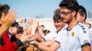 Die Athlet*innen von Special Olympics Deutschland freuen sich, 2023 Gastgeber der Special Olympic World Games zu sein. Foto: Sascha Klahn