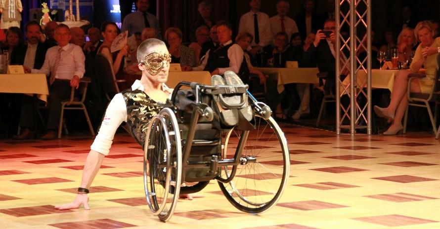 Rollstuhltanzsport Foto: Casino-Tanzclub Rot-Gold