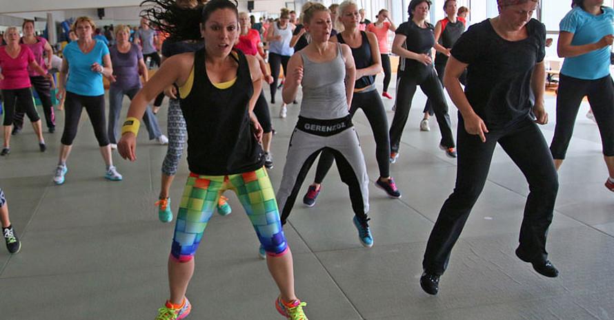 Spaß und Bewegung standen beim 24. Aktionstag für Mädchen und Frauen in Cottbus im Mittelpunkt. Foto: LSB Brandenburg