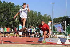 Gerd Schönfelder coachte die Sportlerinnen und Sportler in Limbach-Oberfrohna. Credit: DOSB/Treudis Naß