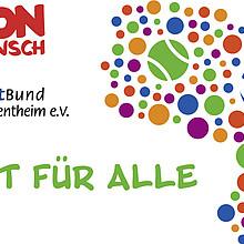 """Logo zum Projekt """"Sport für Alle"""""""