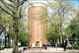 Die Stadt Weißwasser in Sachsen - Hier der Wasserturm als Wahrzeichen (Foto: Stadt Weißwasser)
