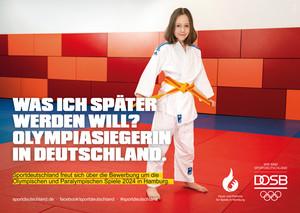 Mit der gleichberechtigten Beteiligung von Frauen in allen Handlungsfeldern des Sports, soll die Bewerbung gelingen. Foto: DOSB