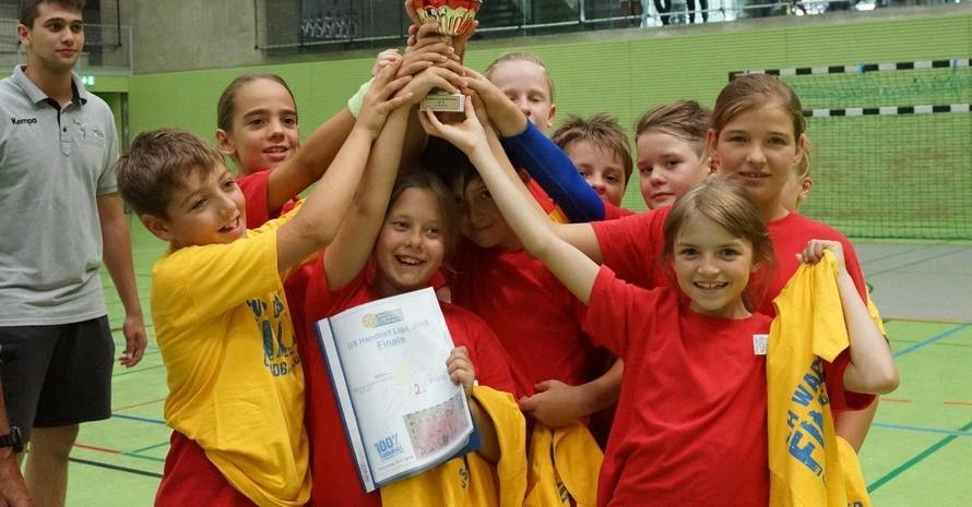 Grundschul-Handball-Liga: beweg' dich und hab' Spaß dabei Foto: SG Pforzheim Eutingen