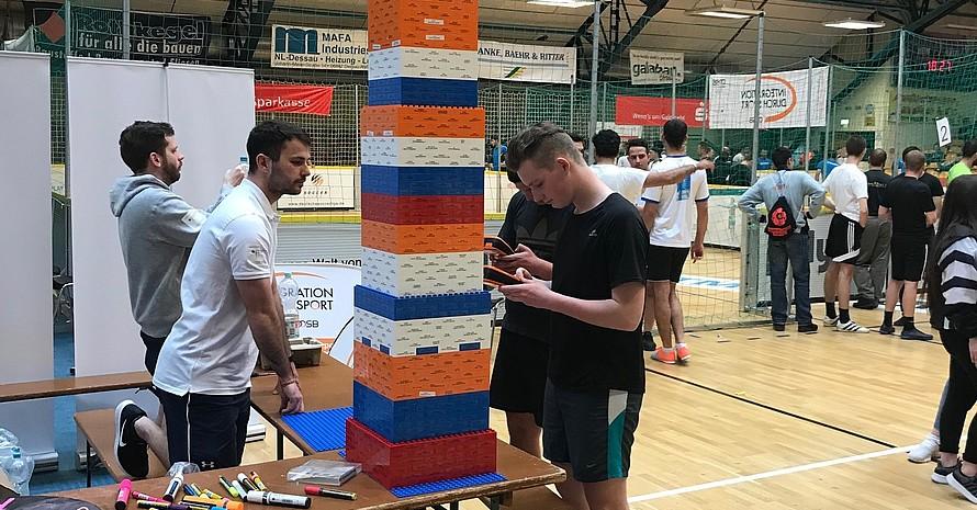 Der IdS-Kurz-Workshop in der Sporthalle in Staßfurt