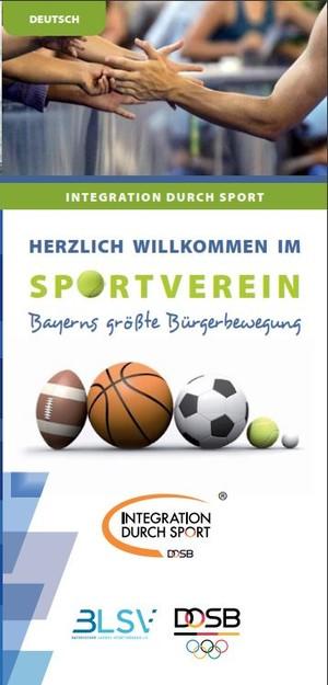 """Flyer """"Willkommen im Sportverein"""". Foto: IDS"""