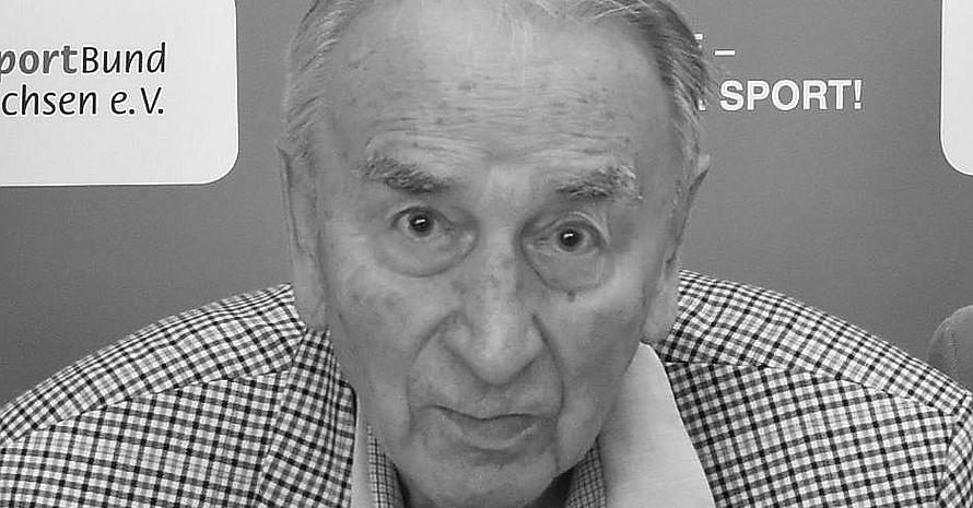 Carl-Heinz Engelke verstarb im Alter von 93 Jahren. Foto: LSB Niedersachsen