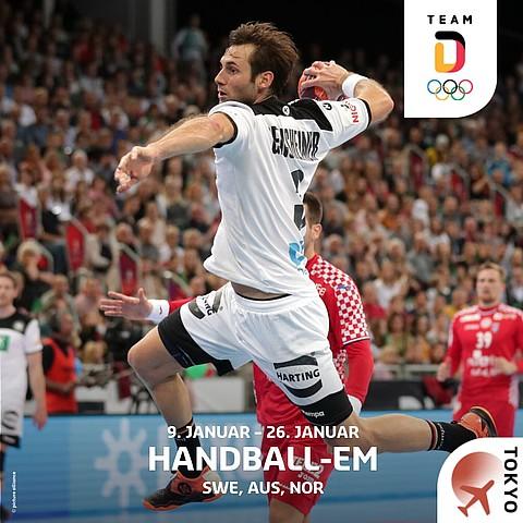 Handball-EM in SWE, AUS, NOR