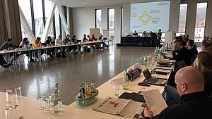 Die Konferenz der Landessportjugenden in Würzburg. Foto: dsj