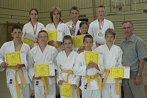 Teilnehmer der 1. Kara-Games beim KDB Brandenburg