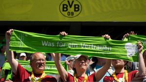Der Schlussgottesdienst fand in der Spielstätte von Borussia Dortmund statt. Foto: picture-alliance