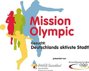Das Logo der Bewegungsinitiative von DOSB und Coca-Cola