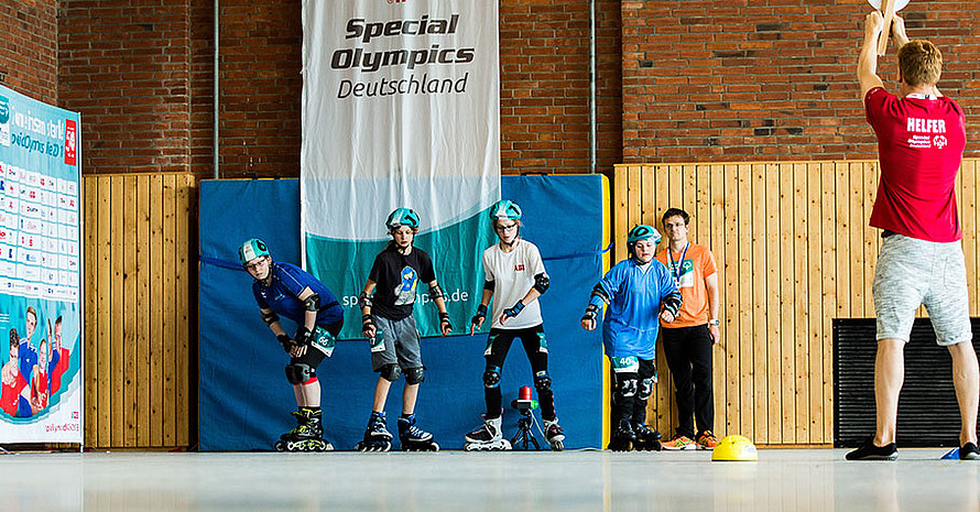 Auch Wettbewerbe im Inlineskating fanden in Kiel statt. Foto: SOD/Sarah Rauch