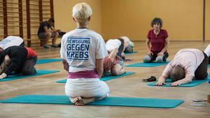 Auch Yoga wird in der Krebsnachsorge eingesetzt. Foto: DOSB/Turnerschaft Zweibrücken