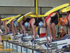 In Warendorf rechnen sich die deutschen Rettungsschwimmer Chancen auf den Titel aus. Foto: DLRG