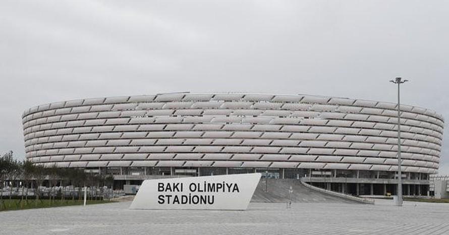 Das Olympiastadion in Baku. Foto: picture-alliance