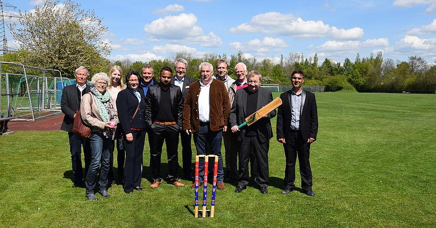 Cricket beim Kummerfelder SV. Foto: LSV Schleswig-Holstein