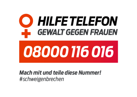 Hilfetelefon Aktionsschild 2018 online