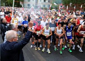 """Die Stadt Neu-Isenburg beteiligt sich am Wettbewerb mit dem """"Hugenottenlauf"""". Foto: motion events"""