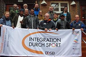 Die Seminarteilnehmer mit Referent Clemens Müller (o.li)