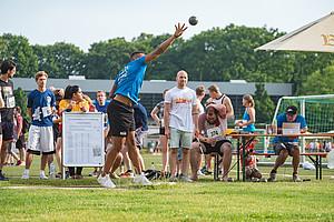 In Darmstadt gab es am 18. Juni mit der Uni-Challenge-App kaum noch Wartezeiten bei den einzelnen Disziplinen (Foto: Helge Lamb)
