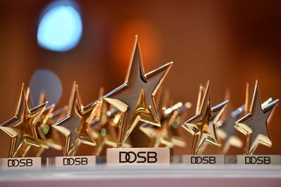 Sterne des Sports in Gold Foto: DOSB