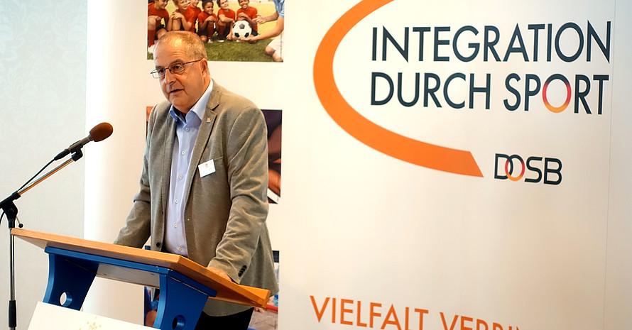 LSB M-V Präsident Andreas Bluhm