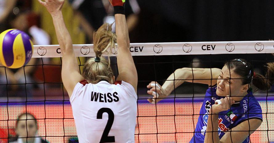 Die deutschen Volleyball-Mannschaften haben sich für die 1. Europaspiele qualifiziert. Foto: picture-alliance