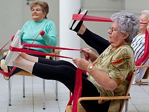 Der 10. Deutsche Seniorentag bietet unter anderen vielfältige Bewgungsmöglichkeiten. Foto: picture-alliance