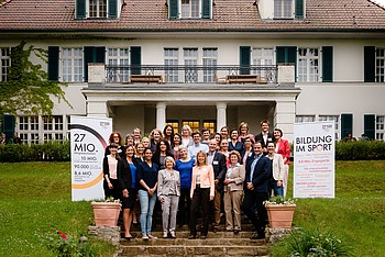 Abschlussveranstaltung des Mentoring-Programms 2014/2015 am 29. Mai 2015 in Berlin. Foto: DOSB