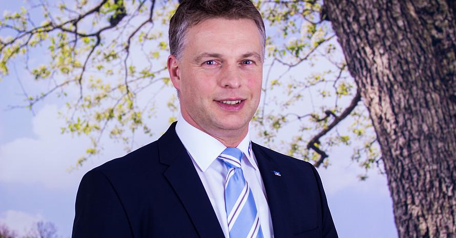 """Detlef Maiers koordiniert die """"Sterne des Sports"""" innerhalb der Arbeitsgemeinschaft. Bild: Raiffeisenbank Westeifel eG"""