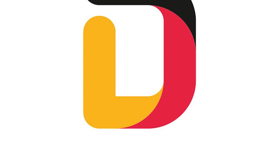 Team D ist das neue Markenzeichen der deutschen Olympiateilnehmerinnen und -teilnehmer. Logo: DOSB