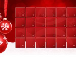 Der Adventskalender bringt Bewegung in die Vorweihnachtszeit. Screenshot: aelter-werden-in-balance.de