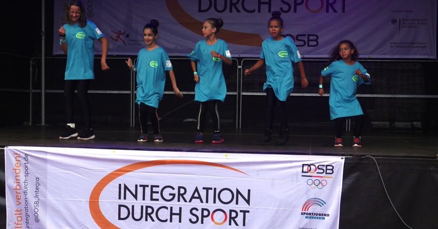 Der IdS-Stützpunkt ITTV Frankfurt präsentierte sein Können (Quelle: Sportjugend Hessen)