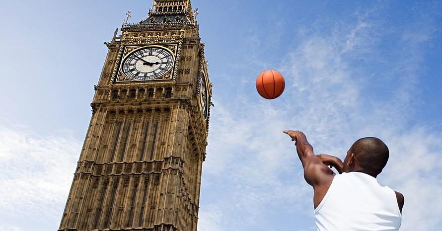 Das große olympische Ziel London ist schon in Sicht/Wurfweite. Foto: picture-alliance