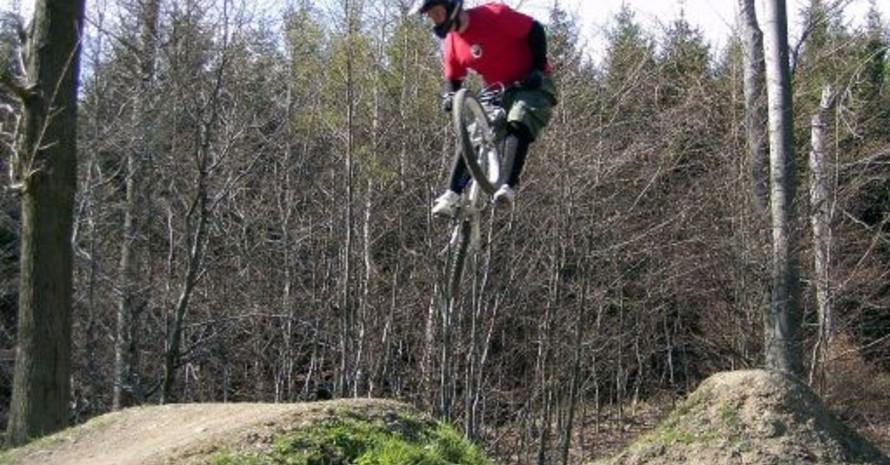 """Der """"bikepark boppard"""" ist Anziehungspunkt für Mountainbiker aus ganz Deutschland und dem benachbarten Ausland. Bild: TG 1892 Boppard"""