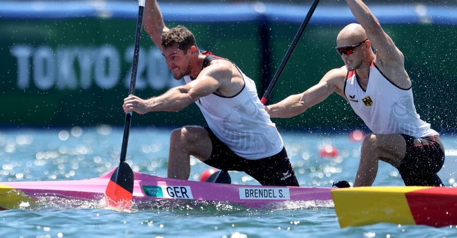 Sebastian Brendel und Tim Hecker fahren zu Bronze. Foto: picture-alliance