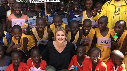 Botschafterin in Uganda © DOSB