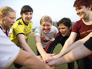 Frauen holen auch im Sport langsam auf. Foto: LSB NRW
